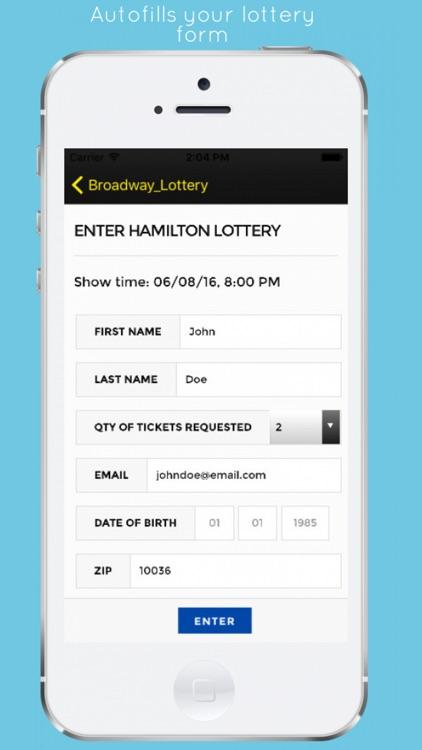 Broadway Lottery