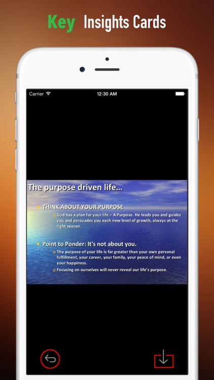 The Purpose Driven Life: Practical Guide Cards with Key Insights and Daily Inspiration screenshot-3