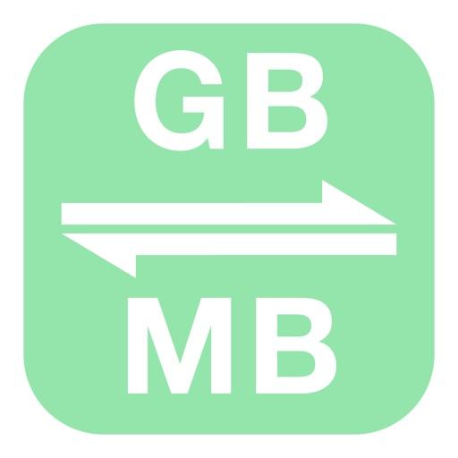 Gigabytes To Megabytes Gigabyte To Megabyte Gb To Mb By Meta