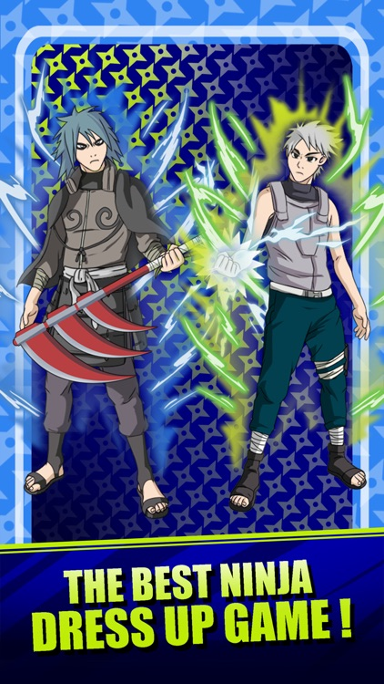 Create Your Own Ninja - Dress Up Game Naruto Shippuden Edition