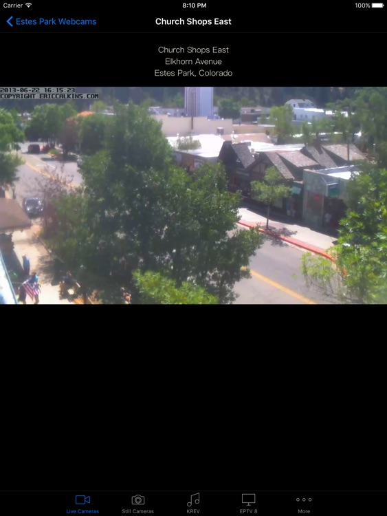 Estes Park Webcams for iPad screenshot-3