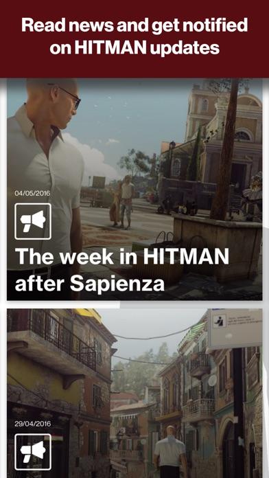 Screenshots of HITMAN™ Companion for iPhone