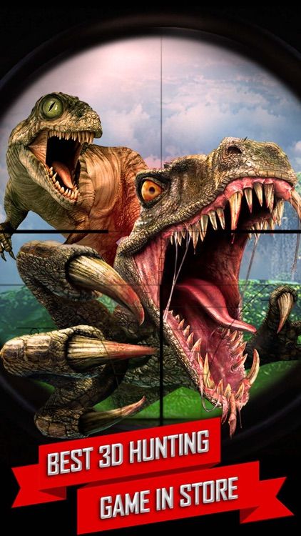 Real Dinosaur Hunter Park 2016 - Jurassic Era Carnivores Hunting season