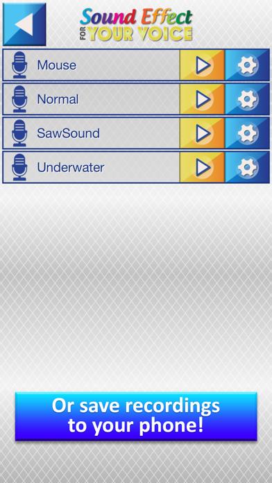 Efectos de Sonido para tu Voz - Transformar Grabaciones dentro Gracioso Sonidos con Modificador de VozCaptura de pantalla de5