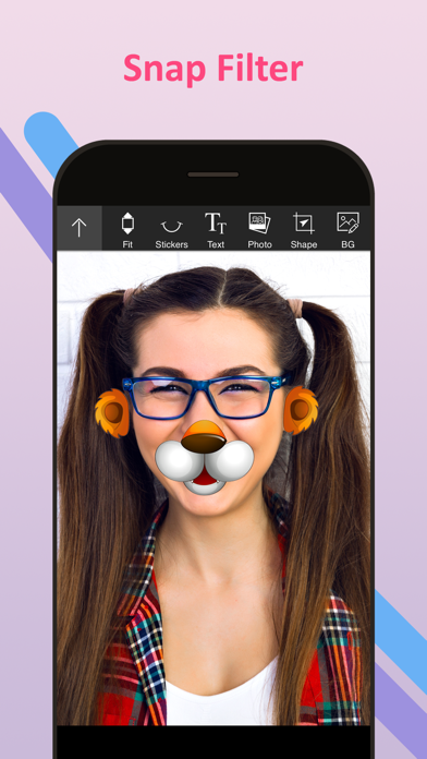 Funny Face Filters & Stickers For Social Apps | App Price Drops