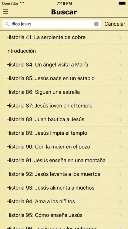 Historias de la Biblia en Español - Bible Stories in Spanish screenshot-3