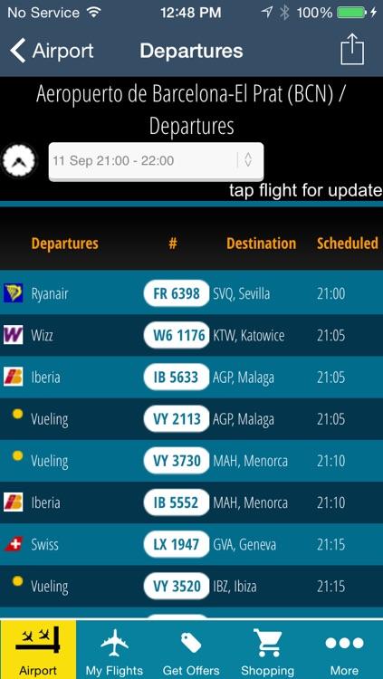 Barcelona Airport Pro (BCN) Flight Tracker