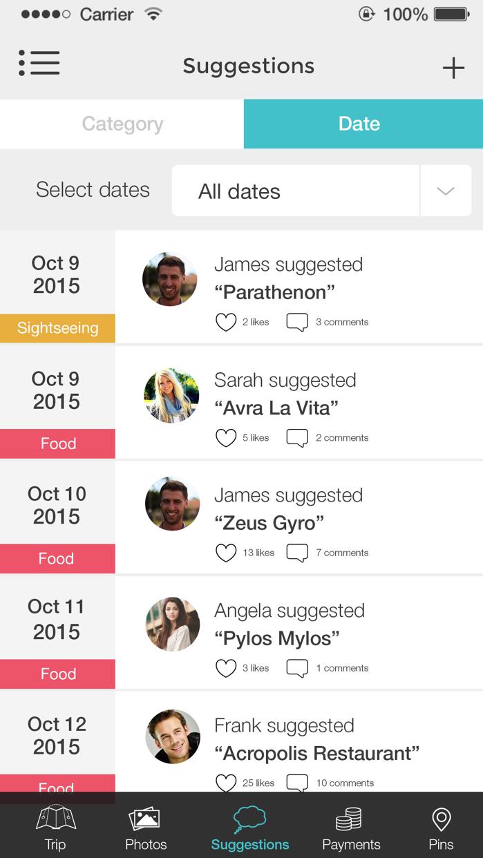 GrupTrip: Group Travel Planner Screenshot