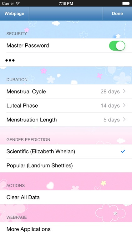 Menstrual Calendar for Women screenshot-4