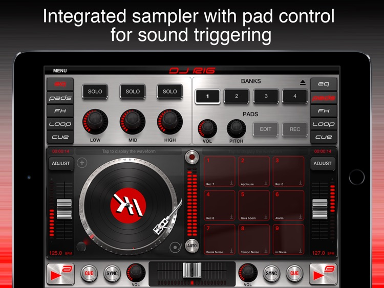 DJ Rig FREE for iPad screenshot-4