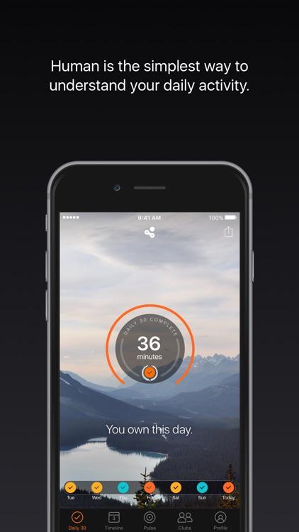 Human - Activity Tracker screenshot-0