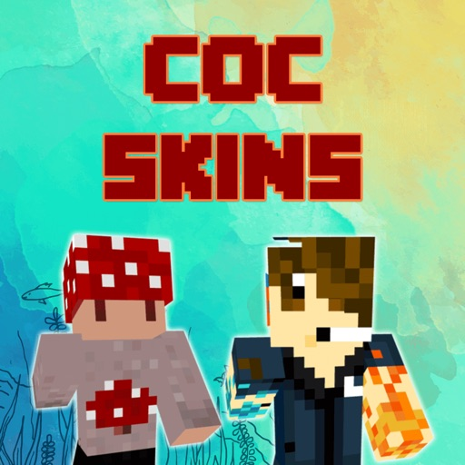 COC Skins for Minecraft PE & PC Edition