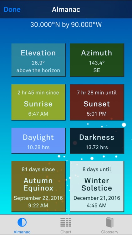 Sol: Sun Clock – Daylight Forecaster & Solar Alarm screenshot-3