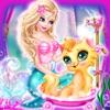 美人鱼护士护理宠物猫- 女孩装扮游戏