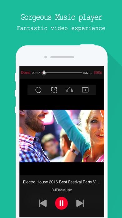 Screenshot for Gratis Musicas baixar - for YouTube Musik in Portugal App Store