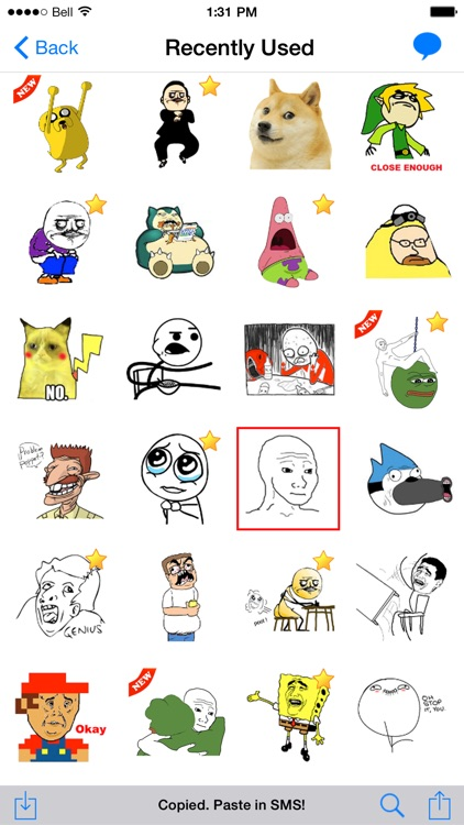 SMS Rage Faces Pro