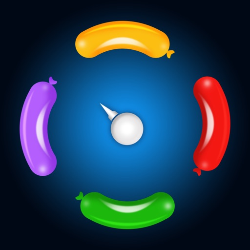 Shoot balloon – Best free needle shooting game