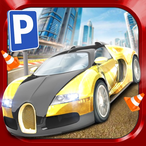 3D Dubai Parking Simulator Drive Real Extreme Super Sports Car