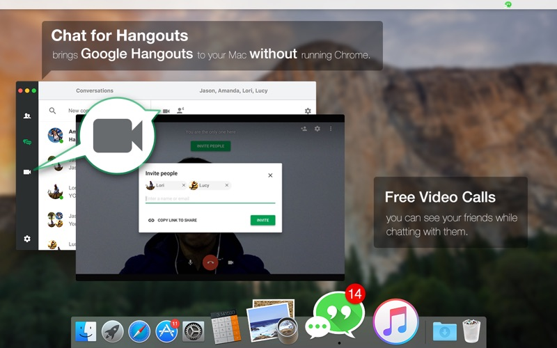 Chat for Hangouts - Message & Video Call | App Price Drops