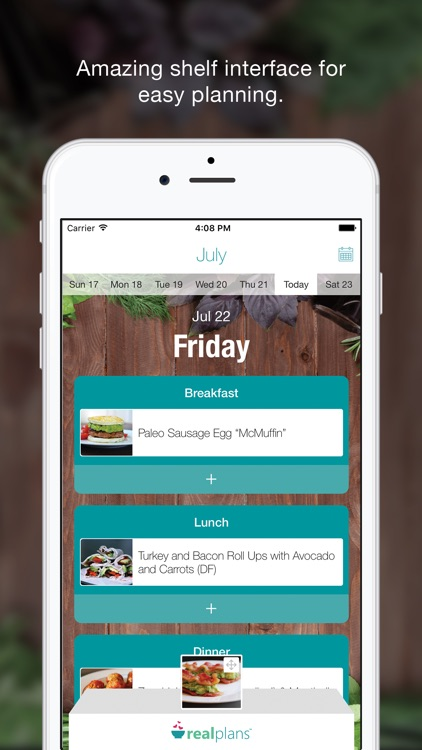 Real Plans - Meal Planner & Shopping List