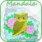 Mandala colorare per l'adulto : Miglior Colour Therapy distensione Free Book icon