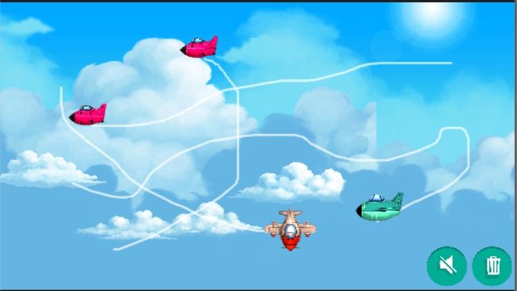 うごく飛行機のお絵描き-無料版-【こどもの知育アプリ】