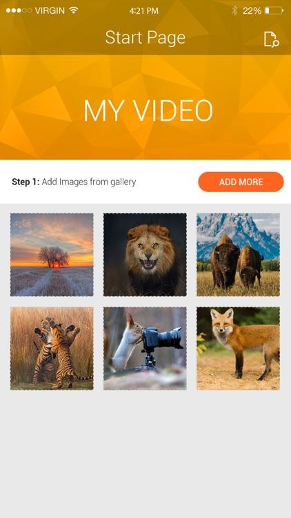 VidMaker Create interactive videos with motion effects screenshot-3