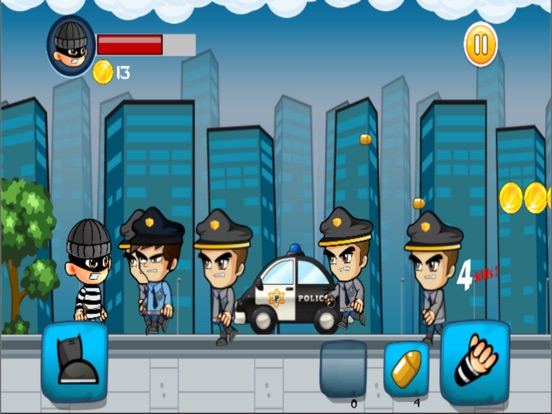 robber vs cops run adventure games-ipad-2