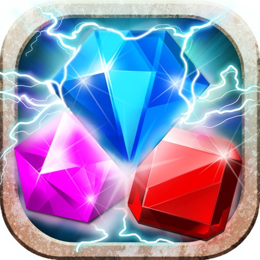 Jewels Quest - Classic Match-3 Puzzle Game