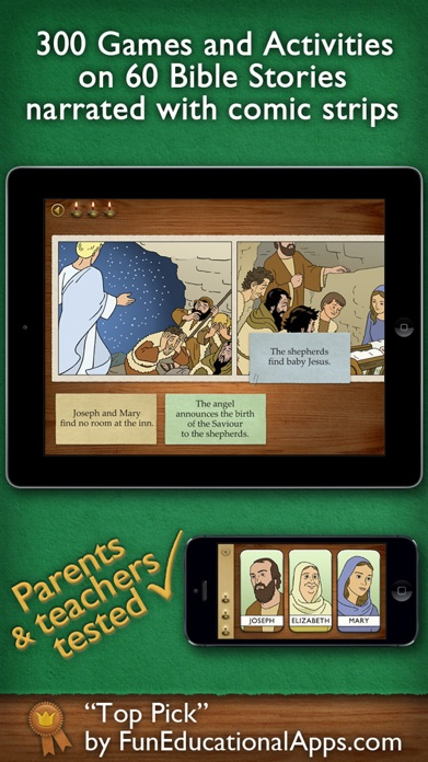 Children's Bible Games for Kids, Family and School Screenshot