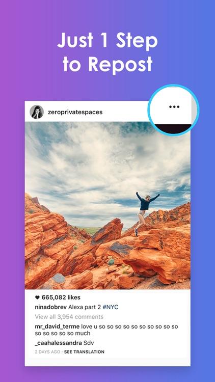 Reposter - Repost Photos & Videos for Instagram
