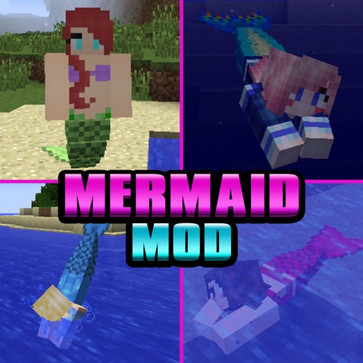 MERMAID MOD - Reality Mermaids Tail Mods (with Shark) for Minecraft Game Pocket Guide PC Edition