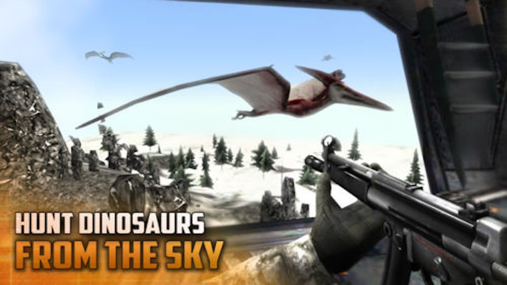 Dino-saur Gun-ship FPS Sim-ulator hack tool