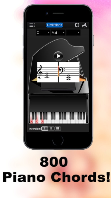 Piano Chords Compass Lite Learn The Chord Notes Play Them By