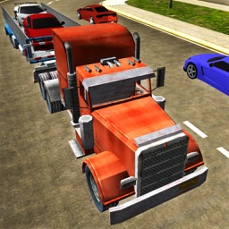 Car Transporter Carriage Truck 3D - Transport Sports Cars in Heavy Truck & Cruise Freight