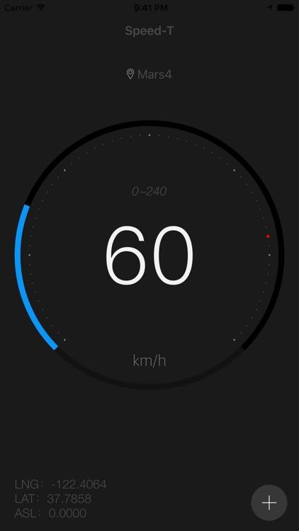 speedometer - Speed-T