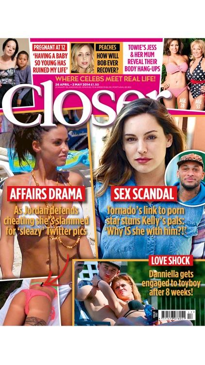 Closer UK Magazine - celebrity & real life stories