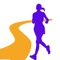 It is application to make a preliminary inspection of a running (walking) course with a picture