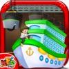 儿童邮轮厂 - 建造,设计和在这个有趣的游戏船装饰