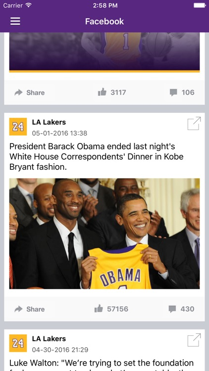 News Surge for Lakers Basketball News Pro screenshot-3