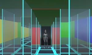 Mirror Maze Challenge