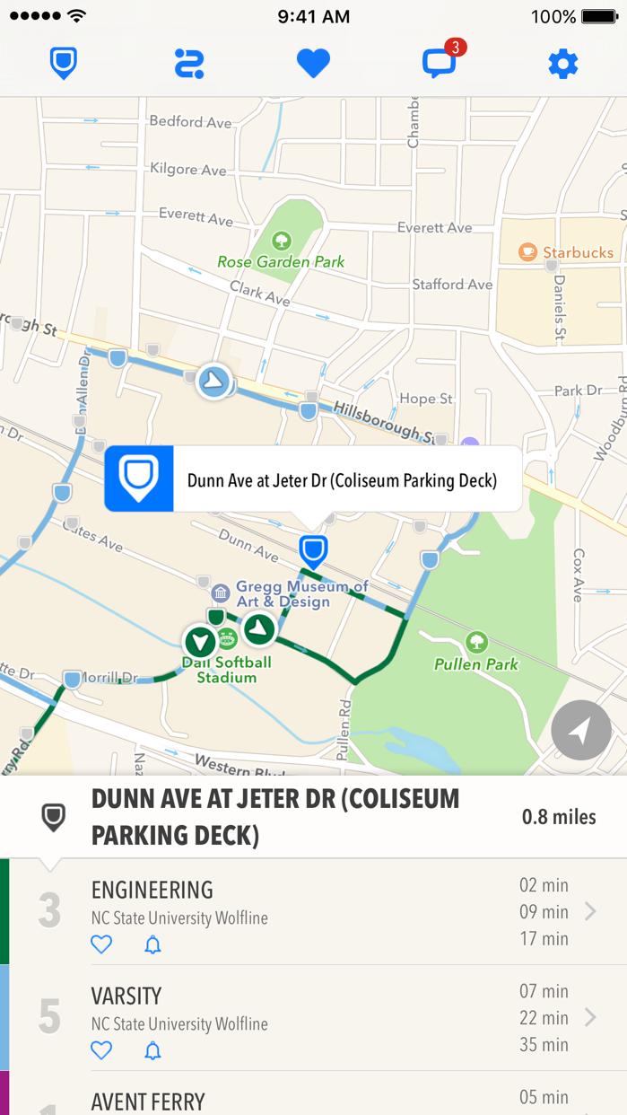 TransLoc Rider: Transit Tracking & Alerts Screenshot