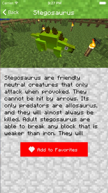 DINOSAUR MOD FOR MINECRAFT PC EDITION - MODS POCKET GUIDE screenshot-3