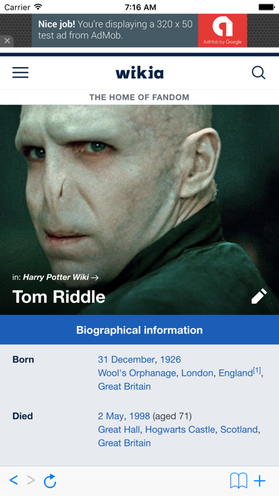 cancel Wiki for Harry Potter app subscription image 1