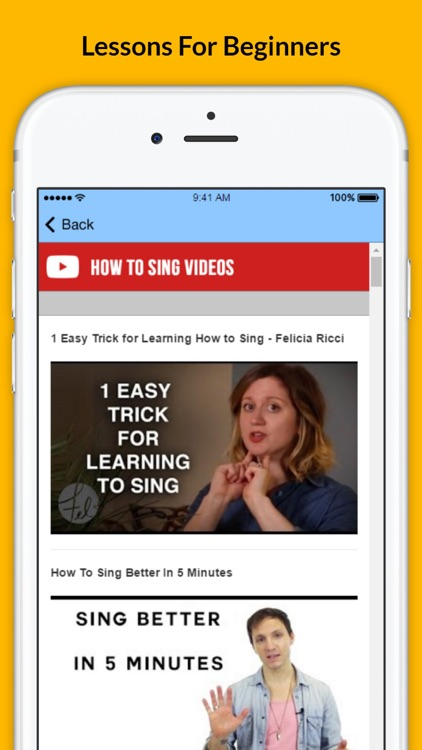 How To Sing - Singing Without Fear screenshot-3