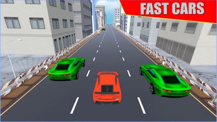 VR Highway Car Traffic Race 3D screenshot-3