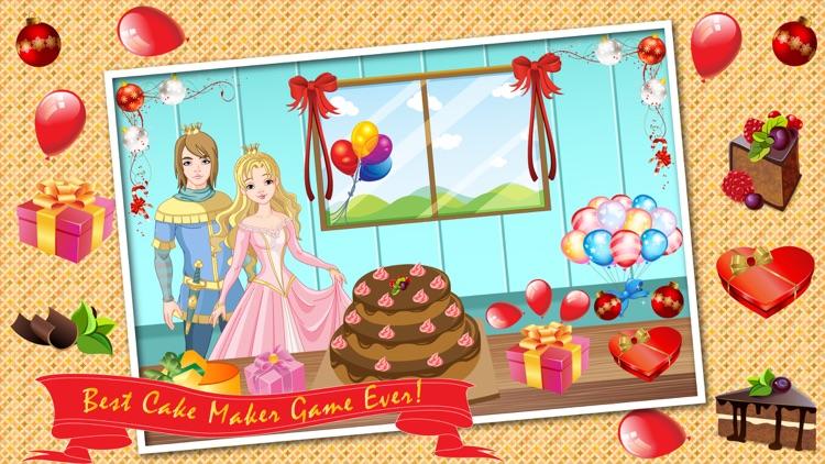 Princess Birthday Cake Maker Cooking Game
