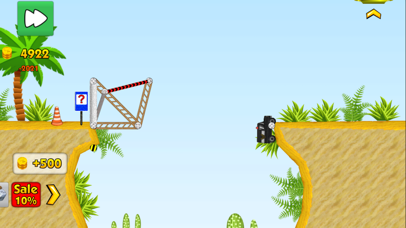 Railway bridge 2 - Bridge construction simulator screenshot three