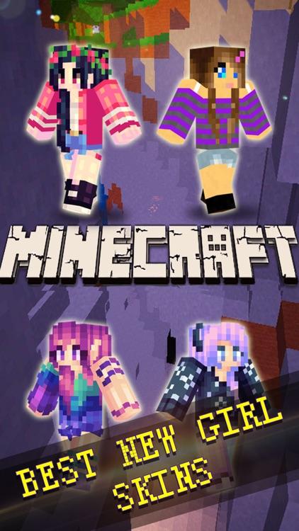 Best Girls Skins Collection - Pixel Art for Minecraft Pocket Edition