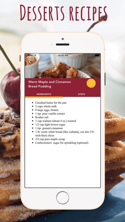 Desserts Recipes Cookbook screenshot-3